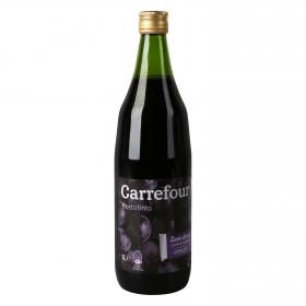 Mosto Carrefour tinto botella 1 l.