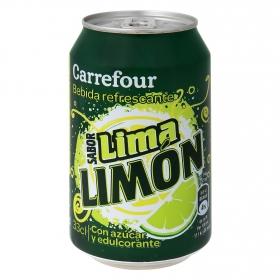 Bebida refrescante de lima limón