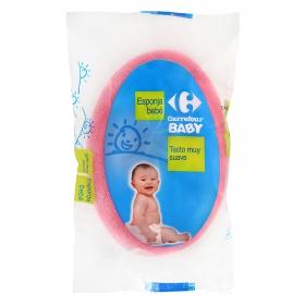 Esponja de baño bebé