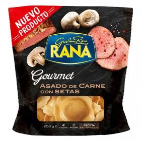 Ravioli de asado de carne y setas Rana 250 g.