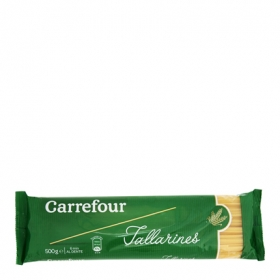 Tallarines Carrefour 500 g.