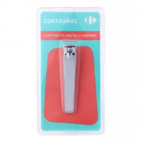 Cortauñas metálico sin depósito Carrefour 1 ud.