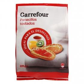 Barritas tostadas Carrefour 225 g.