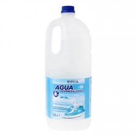 Agua de plancha destilada