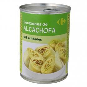 Corazones de alcachofas 6/8 piezas