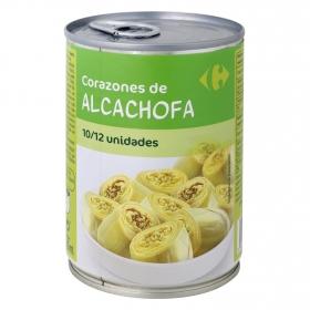 Corazones de alcachofas 10/12 piezas Carrefour 240 g.
