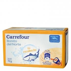 Bonito del Norte en escabeche Carrefour 72 g.