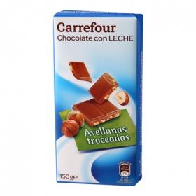 Chocolate extrafino con leche y avellanas