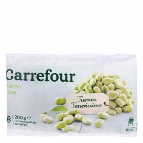 Habas baby Carrefour 200 g.