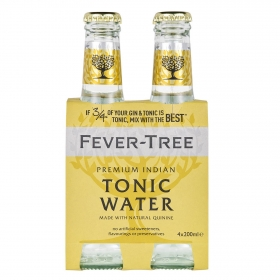 Tónica Fever Tree Premium Indian pack de 4 botellas de