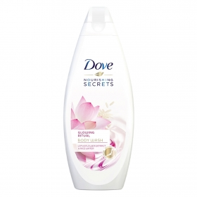 Gel de baño Flor de loto Dove 500 ml.