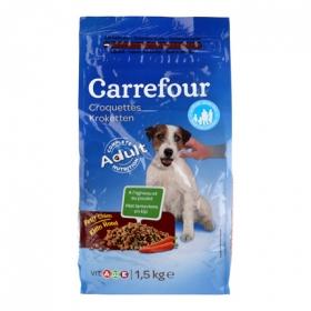 Alimento Seco para Perros Pequeños 1,5Kg, Carrefour
