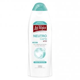 Gel-crema de ducha con sales minerales Neutro care
