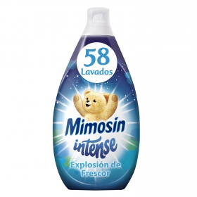 Suavizante concentrado Intense Explosión de Frescor Mimosín 58 lavados.