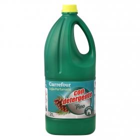 Limpiador con Lejía y Detergente perfume eucalipto