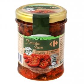 Tomates secos con aceite de oliva y girasol Carrefour 120 l.