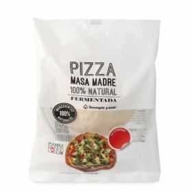 Bola de pizza fresca