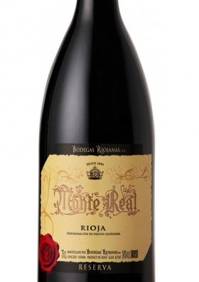 Monte Real Tinto Reserva 2012