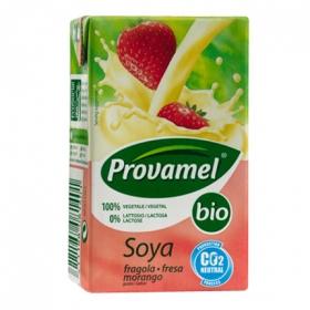 Bebida soja fresa bio