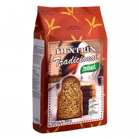 Pan dextrin integral Santiveri 300 g.