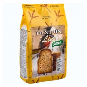 Pan dextrin con lino Santiveri 300 g.