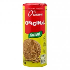 Galletas sin azúcares añadidos Digestive Santiveri 190 g.