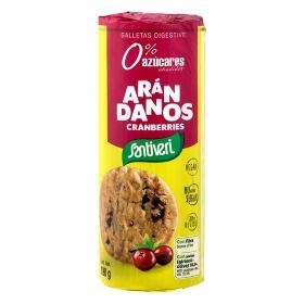 Galletas con arándanos Digestive Santiveri 190 g.