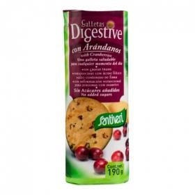 Galletas digestive arándanos