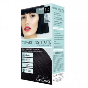 Crema color permanente Colour Clinuance 1.0 Negro Clearé Institute 1 ud.