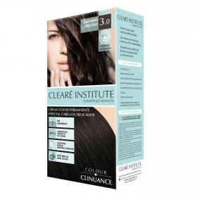 Crema color permanente Colour Clinuance 3.0 Castaño Oscuro Clearé Institute 1 ud.