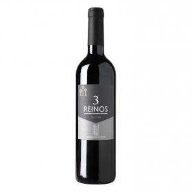 Vino D.O. Ribera del Duero tinto reserva Tres Reinos 75 cl.