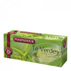 Té verde en bolsitas Pompadour 25 ud.