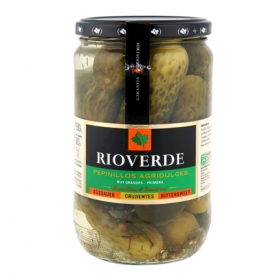 Pepinillos agridulces Rioverde 300 g.