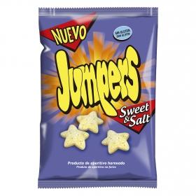 Aperitivo de maíz dulce y salado Jumpers sin gluten 100 g.