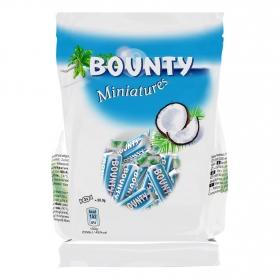 Mini barrita de chocolate rellena de coco Bounty 170 g.
