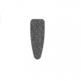 Funda de plancha de algodón metalizado  KLINDO 55 x 140 cm - Estampado