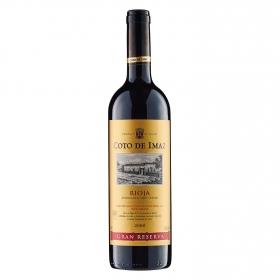 Vino D.O. Rioja tinto gran reserva Coto de Imaz 75 cl.