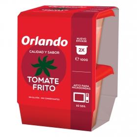 Tomate frito Orlando sin gluten pack de 2 envases de 100 g.
