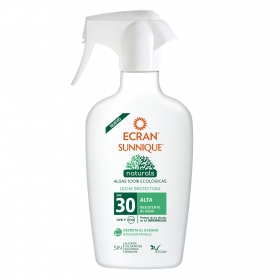 Spray solar SPF 30 natural Ecran Sunnique 300 ml.