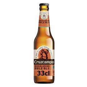 Cerveza Andalusian Pale Ale Cruzcampo botella 35,5 cl.