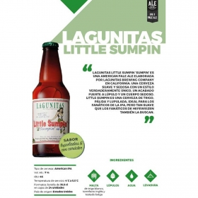 Cerveza Little Sumpin Lagunitas botella 35,5 cl.