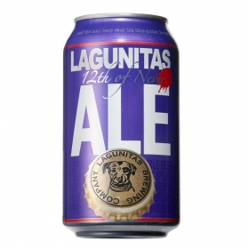 Cerveza ALE 12th of never Lagunitas lata 33 cl.