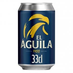 Cerveza El Aguila lata 33 cl.