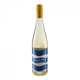 Vino blanco moscato mediterráneo