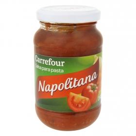 Salsa napolitana Carrefour tarro 260 g.