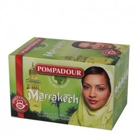 Te Marrakech en bolsitas Pompadour 20 ud.