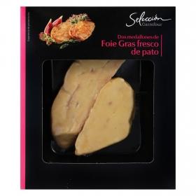 Foie gras fresco entero de pato Carrefour Selección 100 g
