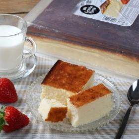 Tarta de queso Granja Rinya Corte Cuadrado