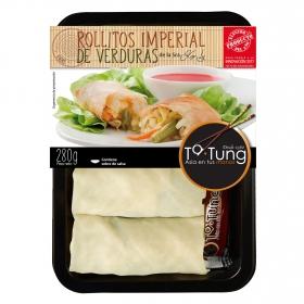 Rollito imperial de verduras Ta-Tung 280 g.