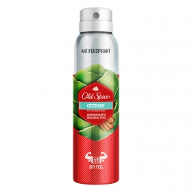 Desodorante spray para hombre Citron Old Spice 150 ml.